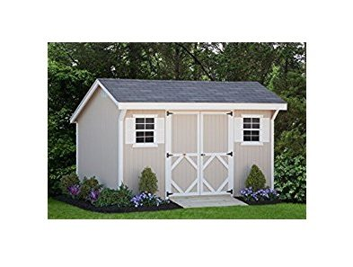 Classic Saltbox Sheds - Panelized Kits