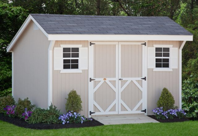 Classic Saltbox Sheds Panelized Kits