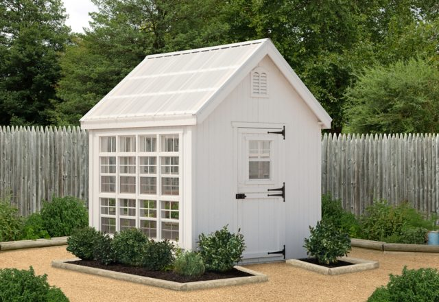 Colonial Gable Garden Shed Panelized Kit