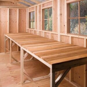 cedarshed workbench bettersheds