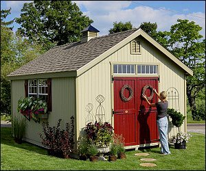 cc686100b1c SKU  N ABrand  Little Cottage CompanyModel  Colonial Wood Shed  SeriesCategories  Colonial•Garden Sheds•Panelized Kit•Sheds•Wood